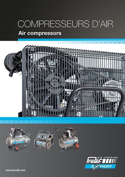 Prodif Air compressors Expert catalog